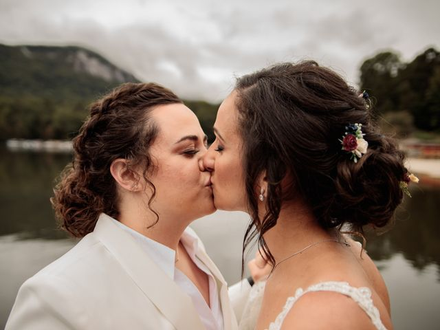 Trista and Sabrina's Wedding in Lake Lure, North Carolina 14