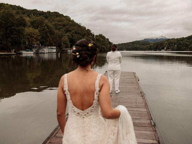 Trista and Sabrina's Wedding in Lake Lure, North Carolina 9