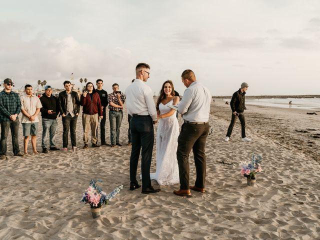 Damian and Naztasja's Wedding in Oceanside, California 11
