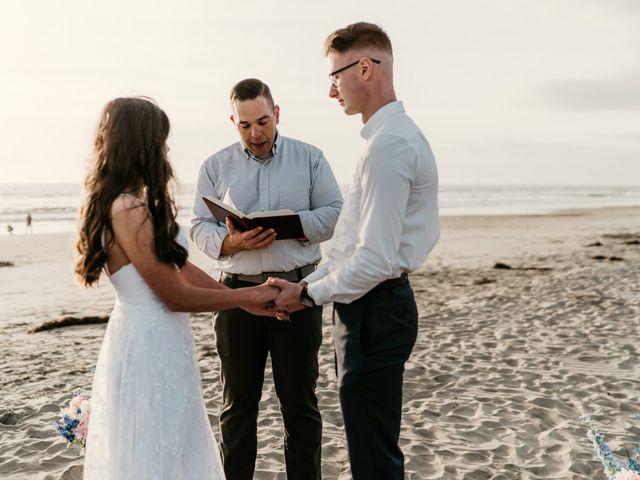 Damian and Naztasja's Wedding in Oceanside, California 12