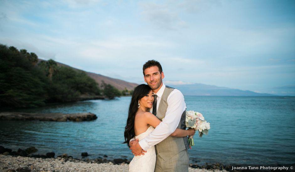 Jocelyn and Anthony's Wedding in Lahaina, Hawaii