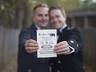 The wedding of Ryan and Kirk 2