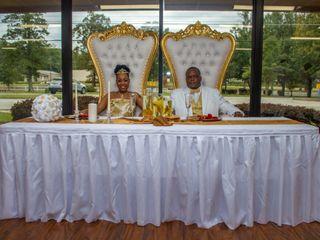 The wedding of Tee Royal and Tee Akins
