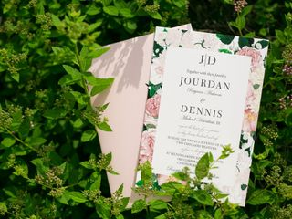 The wedding of Jourdan and Dennis 1