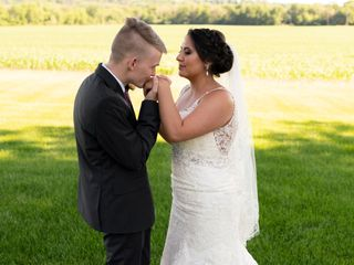 The wedding of Maddy and Devon