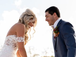 The wedding of Danielle and Brady