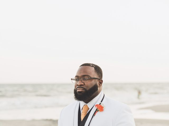 Andre and Chelsea's Wedding in Myrtle Beach, South Carolina 10