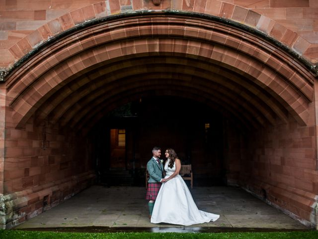 The wedding of Kirstie and Keiran