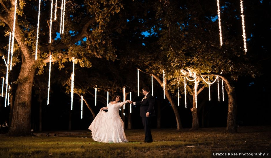 Tony and Carly's Wedding in Bluff Dale, Texas