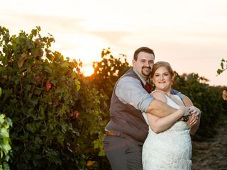 The wedding of Kyle and Brittney