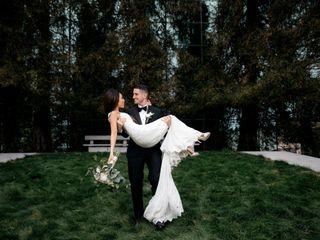 The wedding of Kimberly and Brandon
