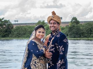 The wedding of Shazida and Naved