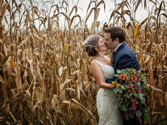 The wedding of Angela and Ben