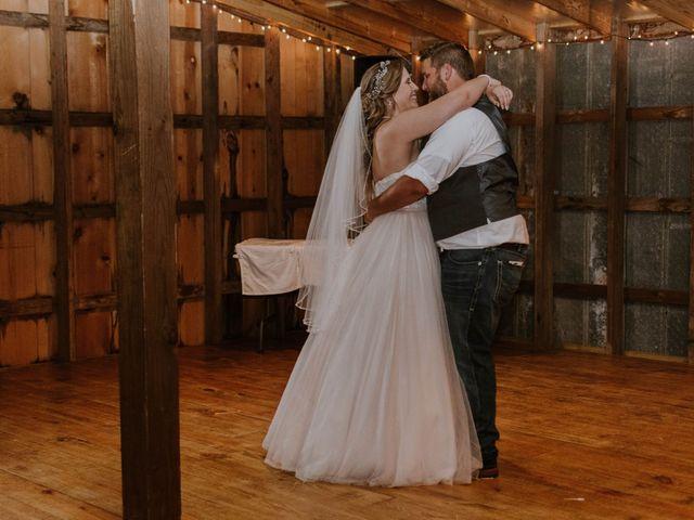 The wedding of Lance and McKenna