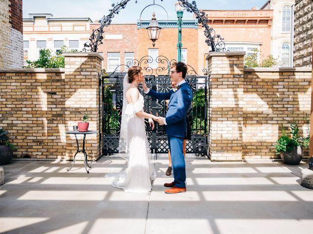 Griffen and Jensen's Wedding in Burlington, Wisconsin 11