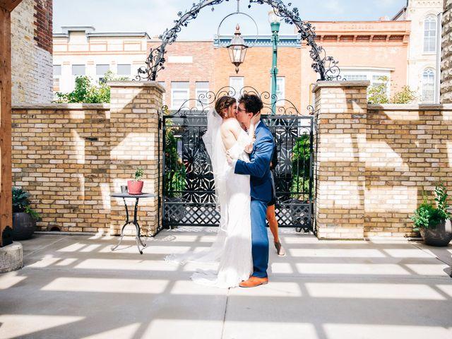 Griffen and Jensen's Wedding in Burlington, Wisconsin 12