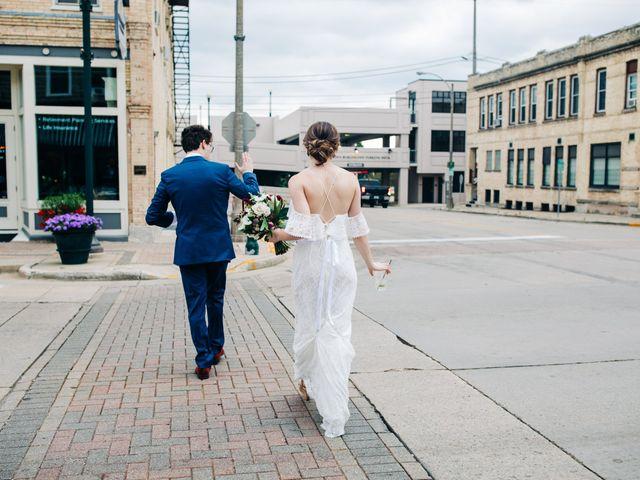 Griffen and Jensen's Wedding in Burlington, Wisconsin 1