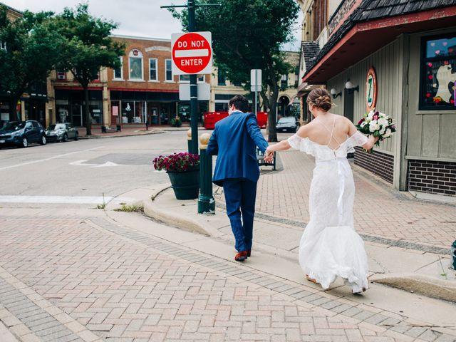 Griffen and Jensen's Wedding in Burlington, Wisconsin 15