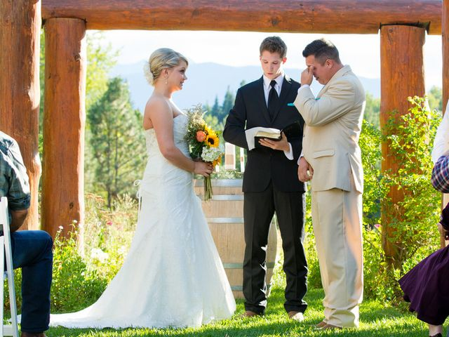 Kexshera and Kirk's Wedding in Leavenworth, Washington 9