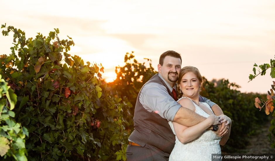 Brittney and Kyle's Wedding in Lodi, California