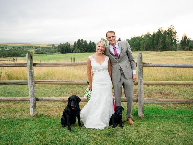 Carie and Chris's Wedding in Belgrade, Montana 6