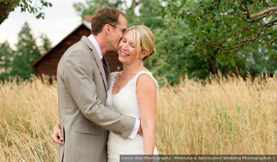Carie and Chris's Wedding in Belgrade, Montana
