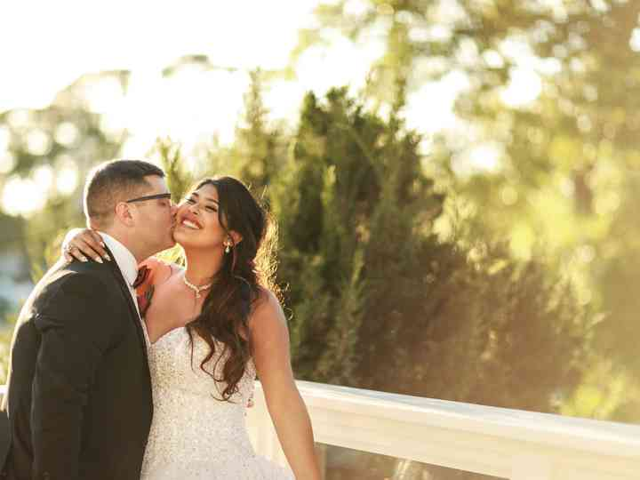 The wedding of Leticia and Andrew