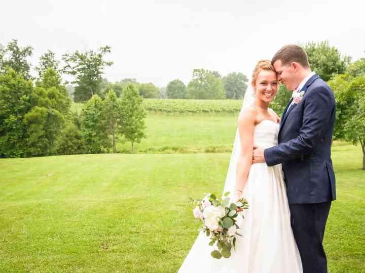 The wedding of Jocelyn and Seth