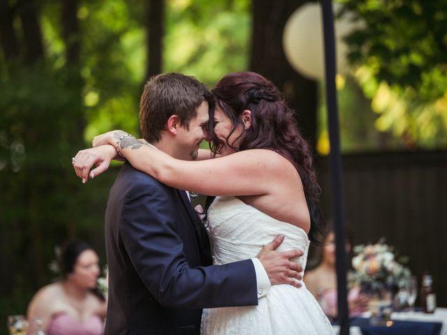The wedding of Kris and Miranda