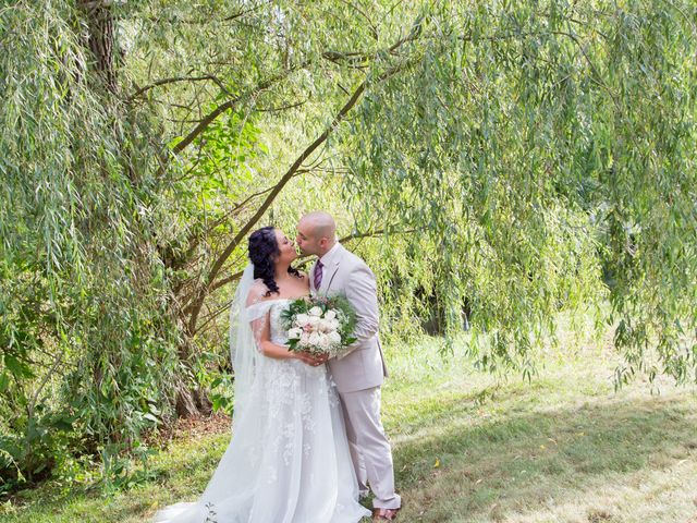 The wedding of Caitlin Moore and Alex Lastra