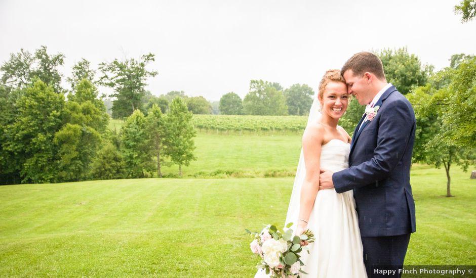 Seth and Jocelyn's Wedding in Afton, Virginia