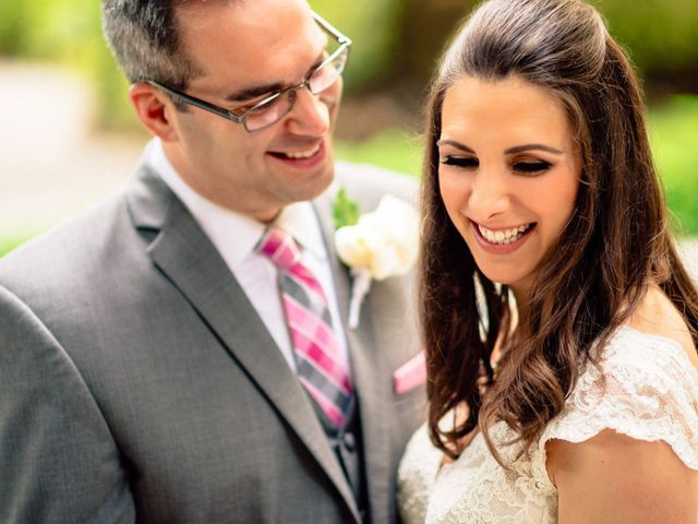 The wedding of Dan and Sara