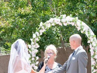 The wedding of LaToya and Michael 1