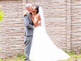 The wedding of LaToya and Michael