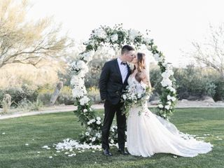 The wedding of Wesley and Erin