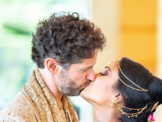 The wedding of Brian and Lata