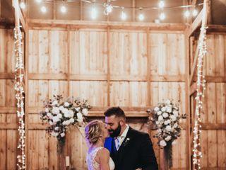 The wedding of Hayley and Garrett 1