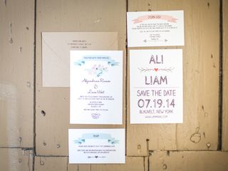 The wedding of Liam and Ali 2