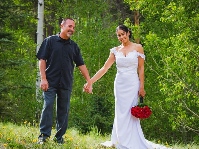 The wedding of Mike and Deborah