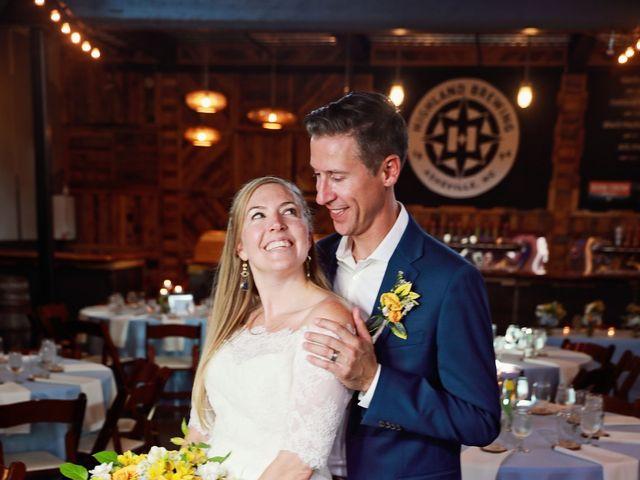Liz and Dave's Wedding in Asheville, North Carolina 13