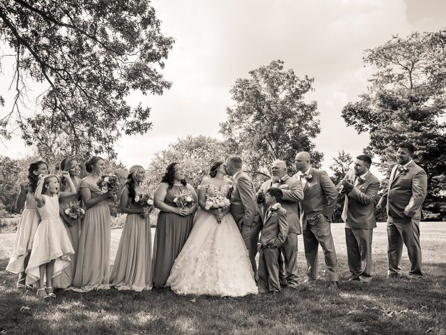 Brian and Macee's Wedding in Delaware, Ohio 34