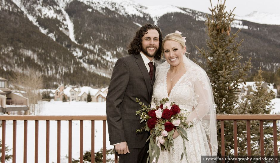 Anthony and Katie's Wedding in Frisco, Colorado