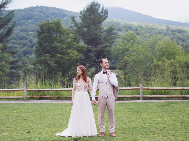 Charlotte and Matt's Wedding in Stowe, Vermont 17