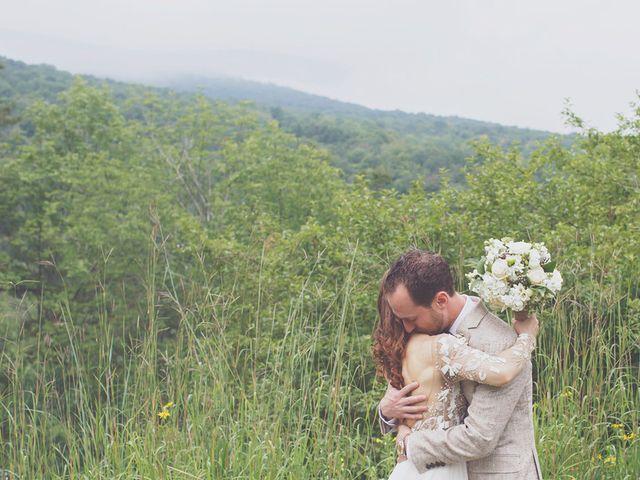 Charlotte and Matt's Wedding in Stowe, Vermont 15
