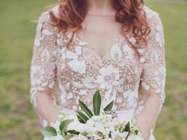 Charlotte and Matt's Wedding in Stowe, Vermont 8