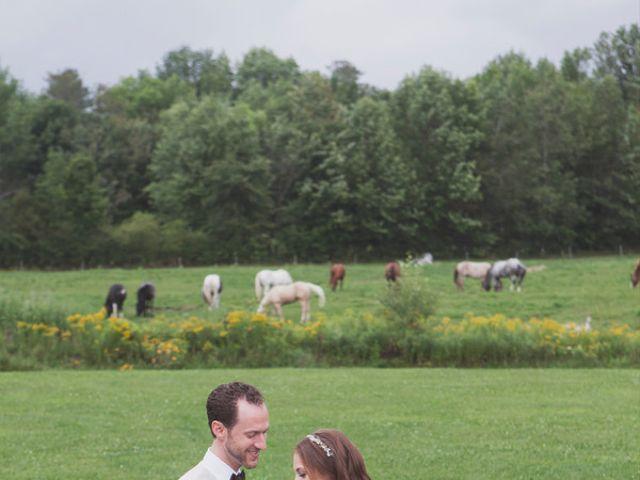 Charlotte and Matt's Wedding in Stowe, Vermont 16