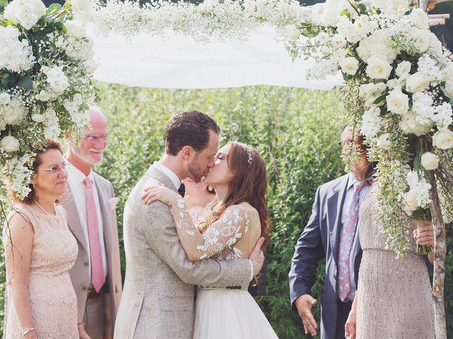 Charlotte and Matt's Wedding in Stowe, Vermont 25