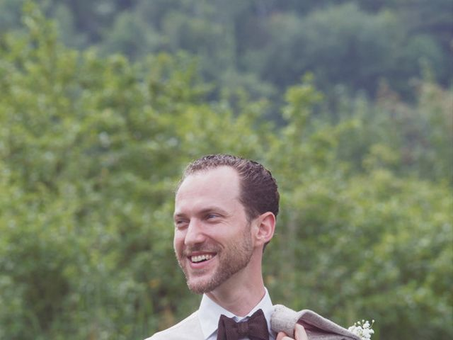 Charlotte and Matt's Wedding in Stowe, Vermont 11