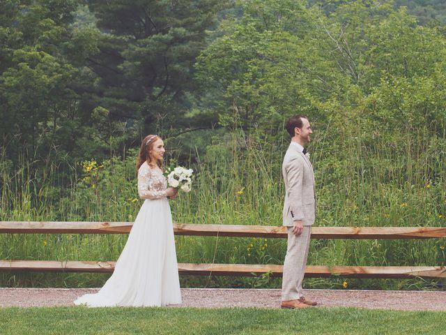 Charlotte and Matt's Wedding in Stowe, Vermont 13