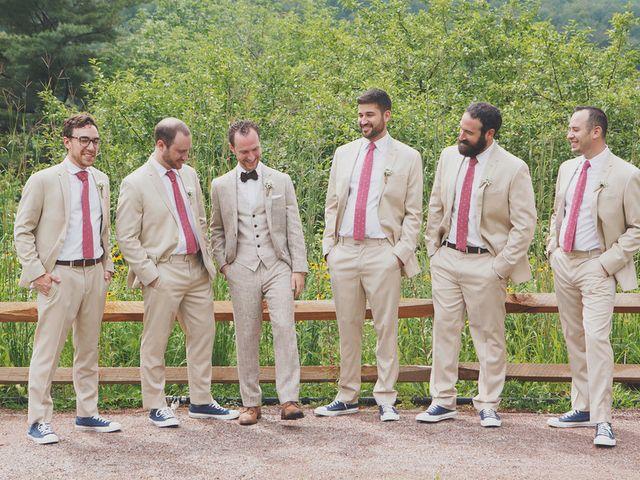Charlotte and Matt's Wedding in Stowe, Vermont 12